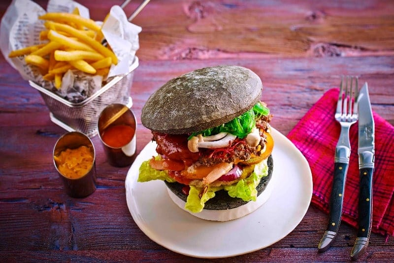 Black Burger Diavolo