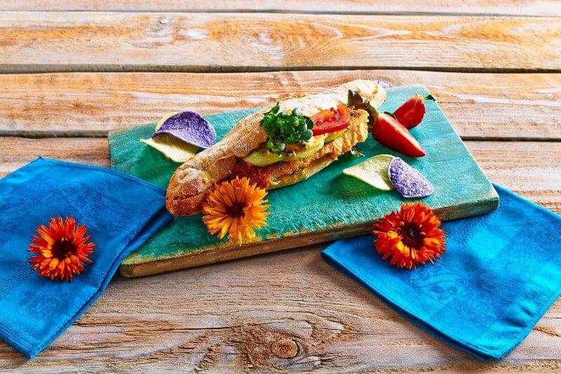 Knusperfisch Baguette