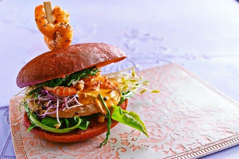 Red Wild Salmon Burger Kamasutra