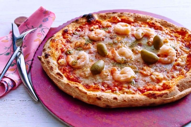 """Pizza """"Gambas"""""""