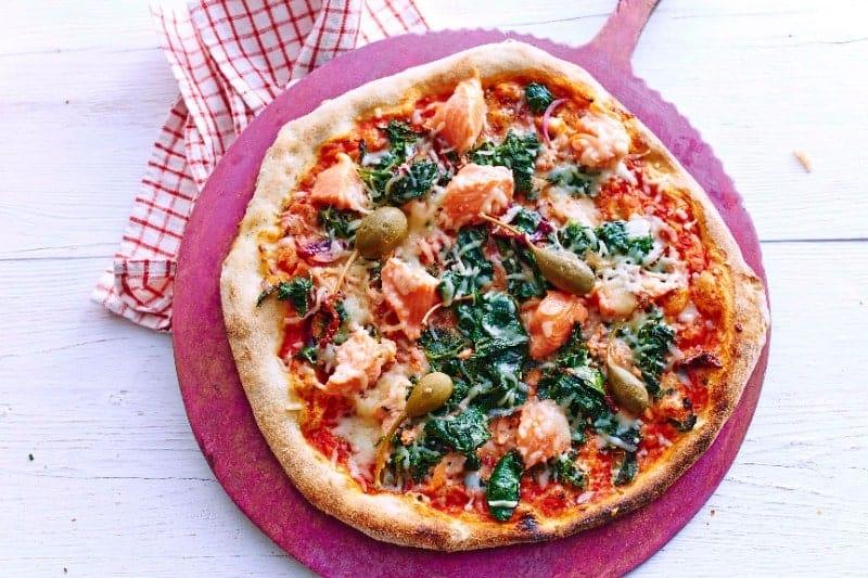 "Pizza ""Salmon"""
