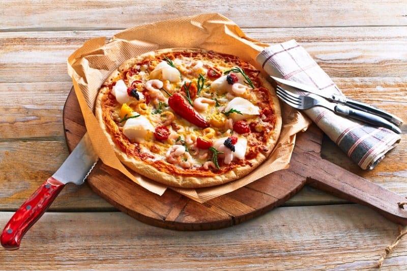 """Pizza """"Grönland"""""""