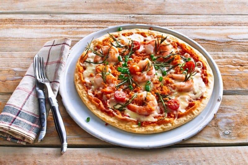"""Pizza """"Lachstartare"""""""